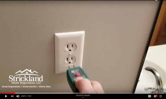 GFCI Receptacles Video - Strickland Home Inspections