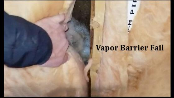 Vapor Barrier Fail